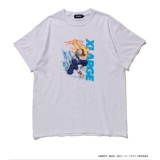 エクストララージ(XLARGE)のXLARGE ヒロアカ 20SS S/S TEE XLサイズ 轟 ホワイト(Tシャツ/カットソー(半袖/袖なし))