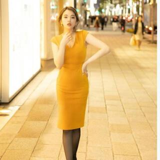 デュラスアンビエント(DURAS ambient)のアンビエント♡Vネックデザインタイトドレス♡ワンピース(ひざ丈ワンピース)