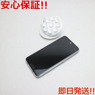シャープ(SHARP)の美品 SH-M09 AQUOS R2 compact ピュアブラック (スマートフォン本体)