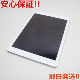 アップル(Apple)の超美品 SIMフリー iPad Air Cellular 16GB シルバー (タブレット)