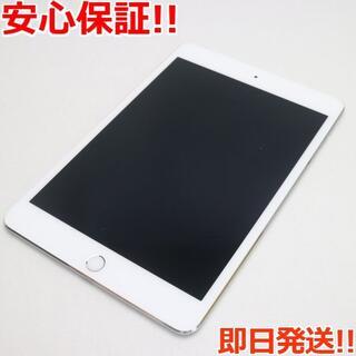 アップル(Apple)の美品 SOFTBANK iPad mini 4 128GB シルバー (タブレット)