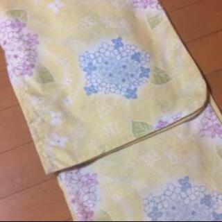 ユニクロ(UNIQLO)の紫陽花柄 浴衣(浴衣)