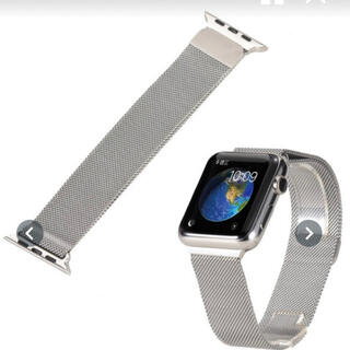 Apple Watch バンド ミラネーゼループ(金属ベルト)