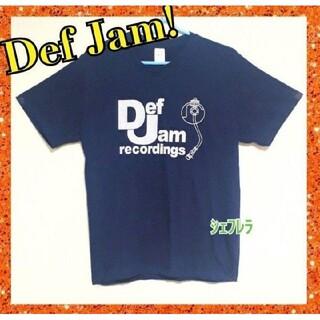 名門レーベル!Def Jam Recordings デザインプリントTシャツ(Tシャツ/カットソー(半袖/袖なし))