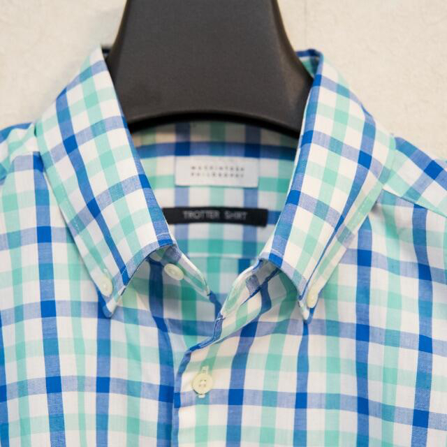 MACKINTOSH PHILOSOPHY(マッキントッシュフィロソフィー)のマッキントッシュフィロソフィー トロッター シャツ 極美品 メンズのトップス(シャツ)の商品写真