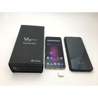 LG Electronics - 186 SIMフリー ソフトバンク LG V60 ThinQ 5G A001LG