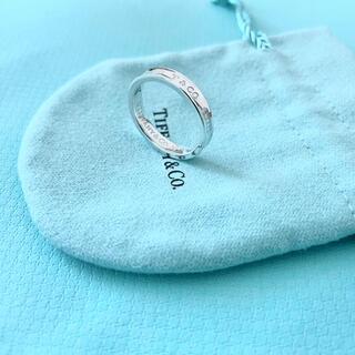 ティファニー(Tiffany & Co.)の【美品】Tiffany & Co. 1837 ナローリング 指輪 16号 925(リング(指輪))