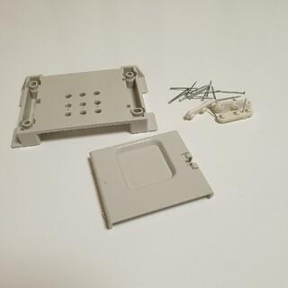 ムジルシリョウヒン(MUJI (無印良品))の無印良品 CDプレイヤー CPD-4用壁掛けパーツ(スピーカー)