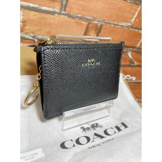 COACH - 【新品未使用特別価格 】COACH コーチ コインケース×パスケース ブラック黒