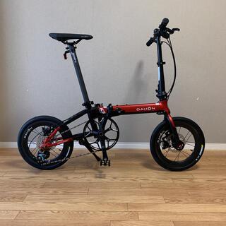 ダホン(DAHON)のDAHON K3 PLUS Tiagra10s ポスト内折れ カーボンホイール(自転車本体)