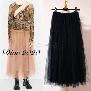 クリスチャンディオール(Christian Dior)のご成約済みです【Christian Dior】2020メッシュベールスカート(ロングスカート)