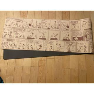 スヌーピー(SNOOPY)のキッチンマット スヌーピー【45cm×240cm】(キッチンマット)
