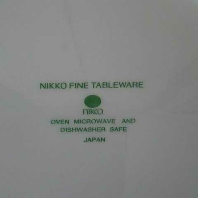 NIKKO(ニッコー)の【未使用】NIKKO 花柄の大皿 インテリア/住まい/日用品のキッチン/食器(食器)の商品写真