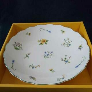 NIKKO - 【未使用】NIKKO 花柄の大皿