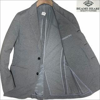 ビームス(BEAMS)のJ5082 美品 ビームス 鹿の子 サマージャケット グレー 46(テーラードジャケット)