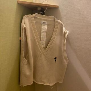 ヨウジヤマモト(Yohji Yamamoto)のdoublet オーバーサイズベストニット(ニット/セーター)