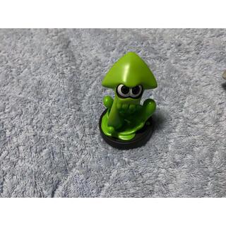 ニンテンドースイッチ(Nintendo Switch)のamiibo スプラトゥーン イカ(グリーン)(ゲームキャラクター)