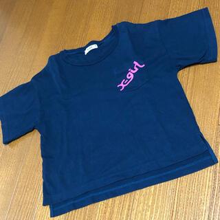 エックスガール(X-girl)のX-girl  バックロゴT 140cm(Tシャツ/カットソー)