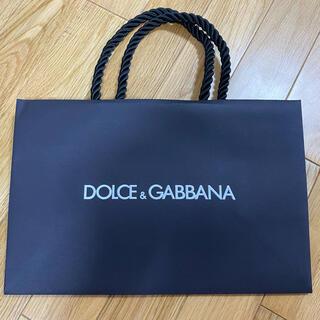 ドルチェアンドガッバーナ(DOLCE&GABBANA)のドルチェ&ガッバーナ ショップ袋 ショッパー DOLCE&GABBANA(ショップ袋)