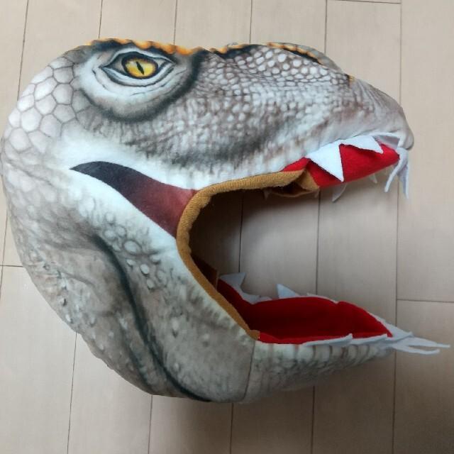 恐竜 かぶりもの 新品未使用【送料込♪】 エンタメ/ホビーのコスプレ(小道具)の商品写真