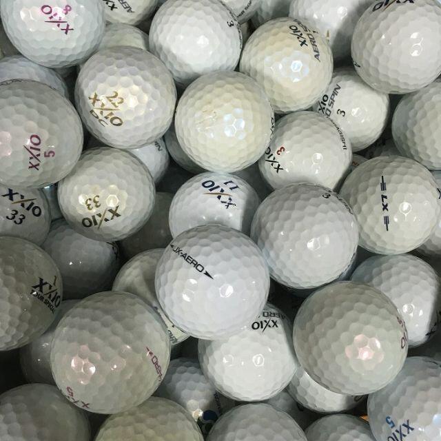 DUNLOP(ダンロップ)の★ロストボール ゼクシオ 混合 ホワイト 100球 B スポーツ/アウトドアのゴルフ(その他)の商品写真