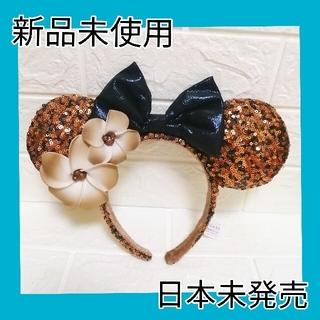 ディズニー(Disney)のディズニー カチューシャ アウラニ ラプンツェル スパンコール パープル 紫(カチューシャ)