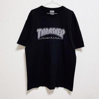 THRASHER - THRASHER スラッシャー Tシャツ ブラック XL