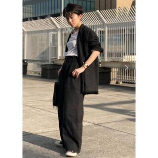アメリヴィンテージ(Ameri VINTAGE)のETORE TOKYO リネンジャケット 美品(テーラードジャケット)