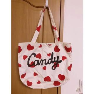 キャンディーストリッパー(Candy Stripper)のCandy Stripper トートバッグ ハンドバック キャンスパ 美品 新品(トートバッグ)
