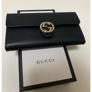 Gucci - GUCCI グッチ 長財布 ブラック