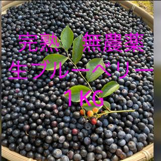 オリンピック開幕価格自然農法 無農薬 手摘み生 1KG(フルーツ)