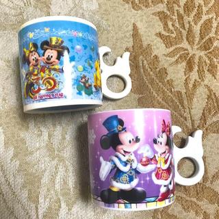 Disney - 限定《ディズニー》30周年 ペア マグカップ ミッキー ミニー ピンク ブルー