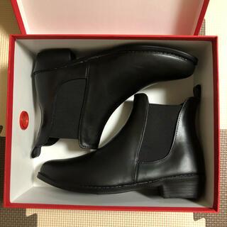 オリエンタルトラフィック(ORiental TRaffic)のレインショートブーツ ブラック サイドゴア レインブーツ(レインブーツ/長靴)
