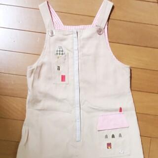 ファミリア(familiar)のfamiliar f dash ジャンパースカート 130(スカート)