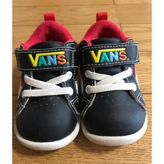 ヴァンズ(VANS)のVANS  12cm  ブラック(スニーカー)
