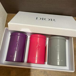 ディオール(Dior)のDior ディオール 新品未使用 バースデーギフト キャニスター缶(小物入れ)