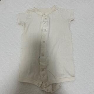 ムジルシリョウヒン(MUJI (無印良品))のベビー服70cm 無印良品(ロンパース)