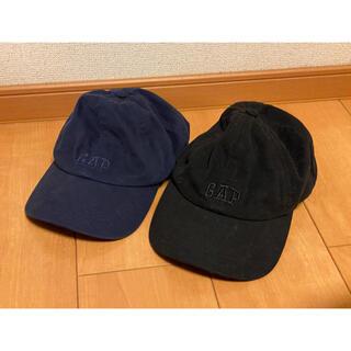 ギャップ(GAP)のGAP  キャップ 帽子 ペア カップル 黒×ネイビー 56-60cm(キャップ)