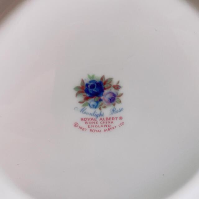 ROYAL ALBERT(ロイヤルアルバート)のロイヤルアルバート ムーンライトローズ ティーポット インテリア/住まい/日用品のキッチン/食器(食器)の商品写真