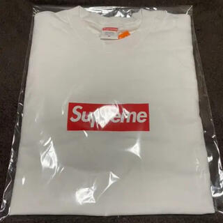 Supreme - Supreme box logo long sleeveTee☆白 M☆