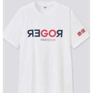 ユニクロ(UNIQLO)の新品【日本未発売】フェデラー ユニクロ【GOROGER】Tシャツ 白(ウェア)
