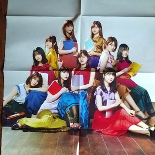 ノギザカフォーティーシックス(乃木坂46)の乃木坂46 BRODY 付録 両面ポスター(音楽/芸能)