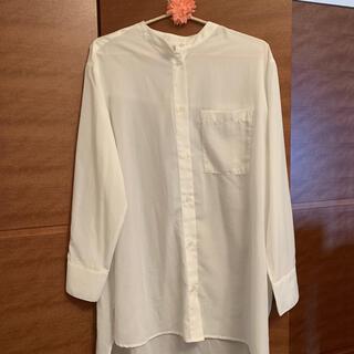 チャオパニックティピー(CIAOPANIC TYPY)の白ブラウス シャツ (シャツ/ブラウス(長袖/七分))