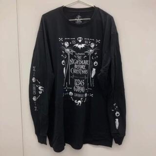 ディズニー(Disney)の2X 降霊術 長袖 Tシャツ ラウンジフライ ナイトメアビフォアクリスマス(Tシャツ/カットソー(七分/長袖))