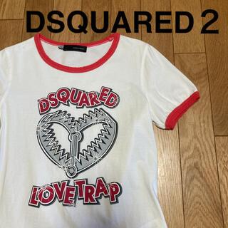 ディースクエアード(DSQUARED2)の【DSQUARED2】ディースクエアード ダメージTシャツ(Tシャツ(半袖/袖なし))