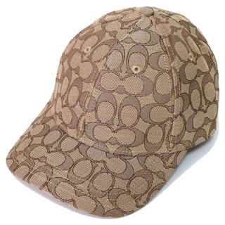 コーチ(COACH)の【COACH★4855】コーチ キャップ帽子 シグネチャー カーキ 新品(キャップ)