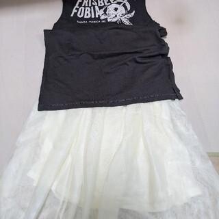 グレイル(GRL)のレーススカート(ひざ丈スカート)