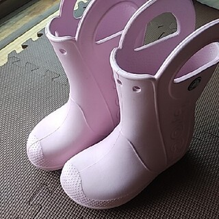 クロックス(crocs)のクロックス レインブーツ crocs 長靴 18(長靴/レインシューズ)
