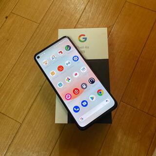 グーグル(Google)のGoogle pixel 4a(5G)(スマートフォン本体)