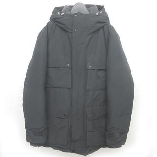デュベティカ(DUVETICA)のデュベティカ コルト ダウンジャケット コート ロング フード ブラック 48(ダウンジャケット)